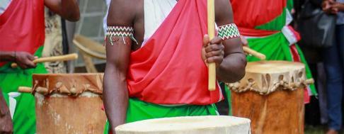 Afrikanische Musik Keyvisual