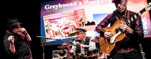 Street Corner Blues von Greyhound's Washboard Band Keyvisual