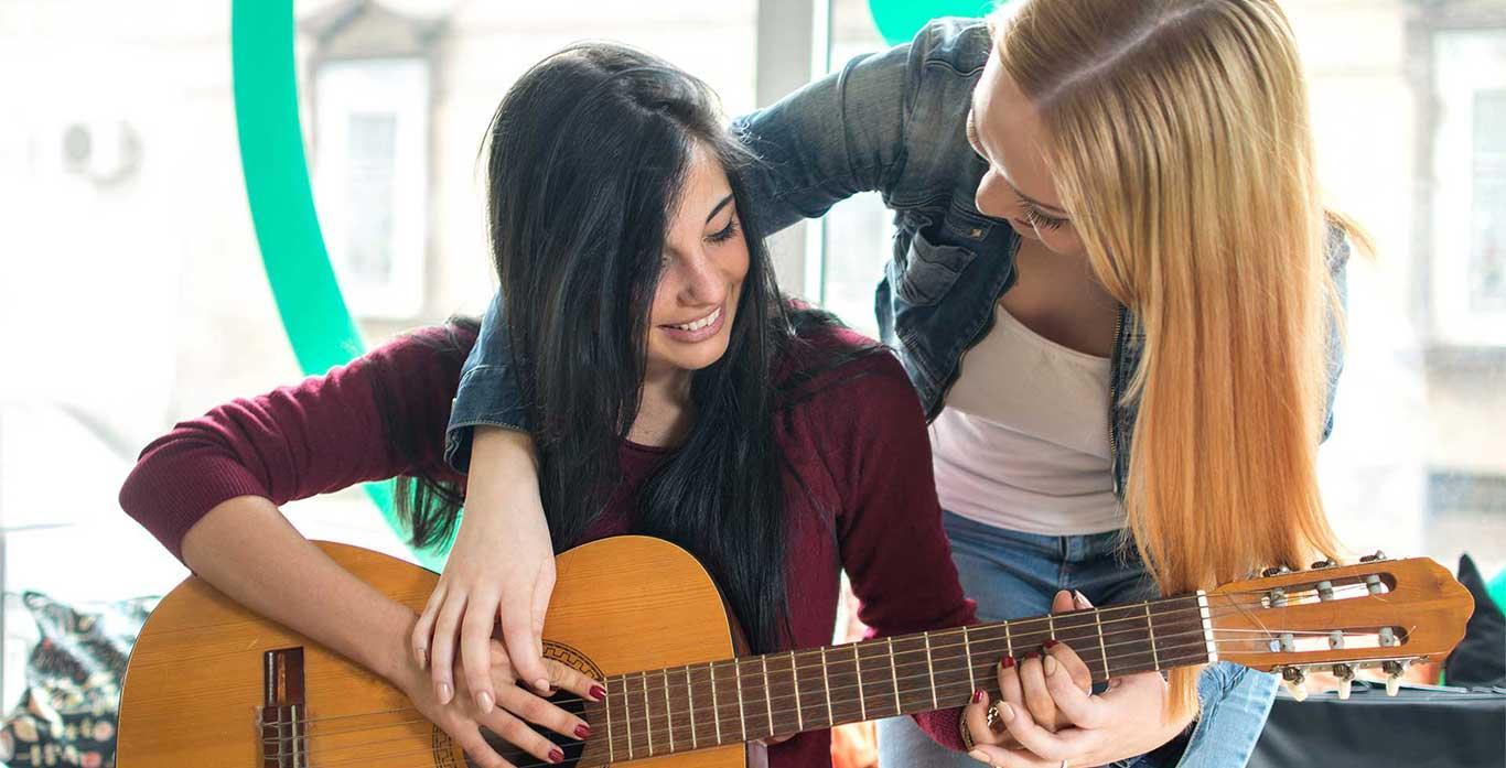 Gitarrenunterricht Keyvisual