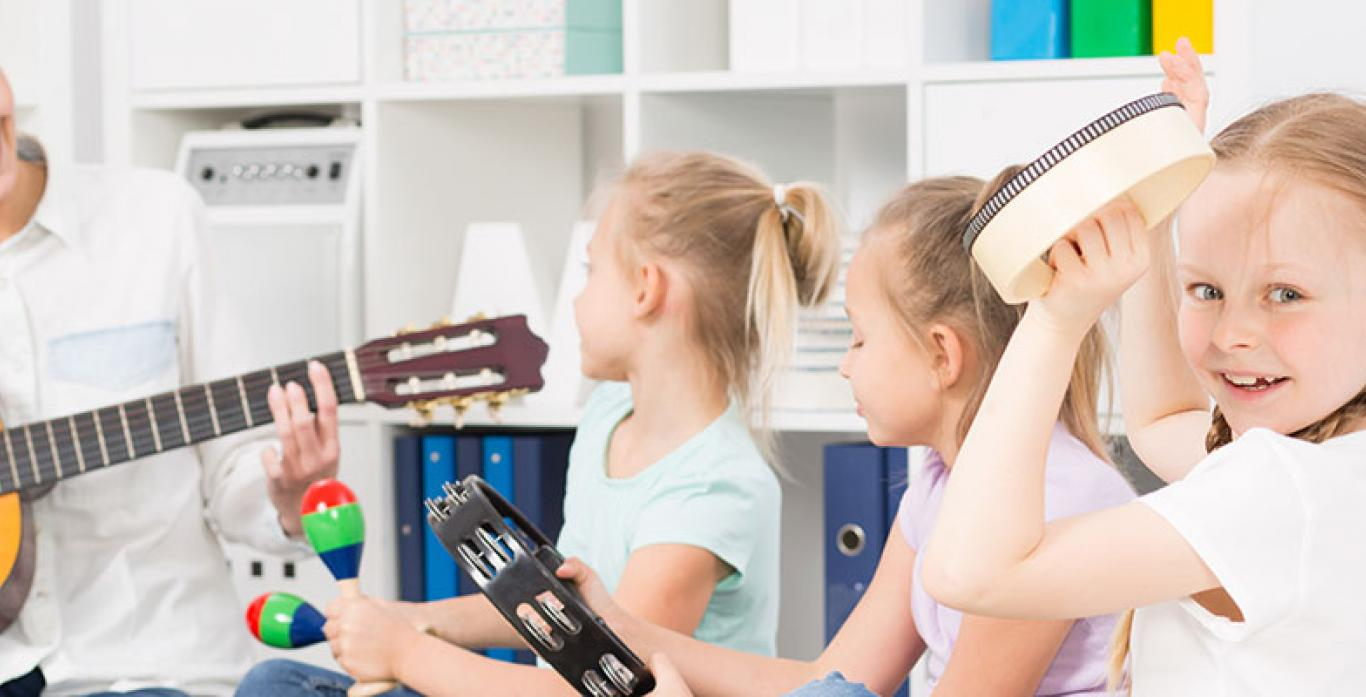 Musikunterricht für Kinder Keyvisual