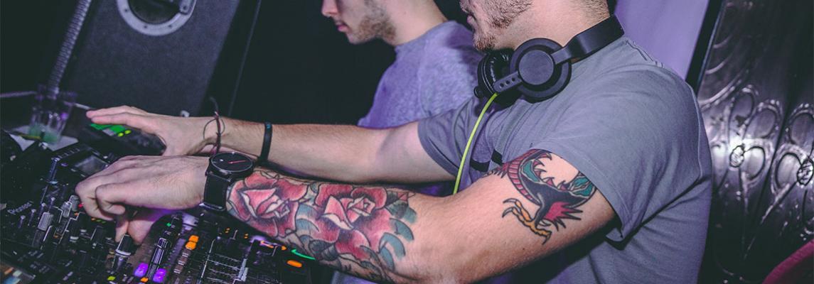 DJing Keyvisual