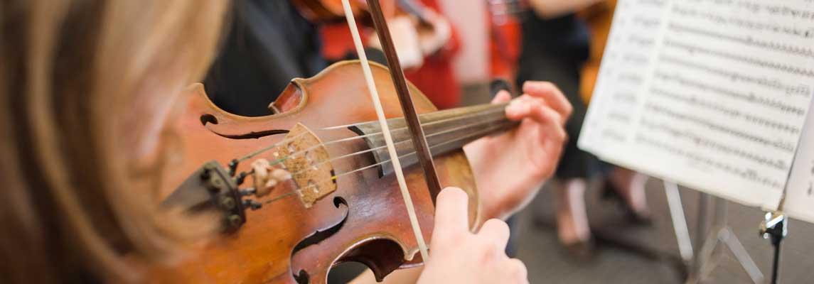Geigenunterricht Keyvisual