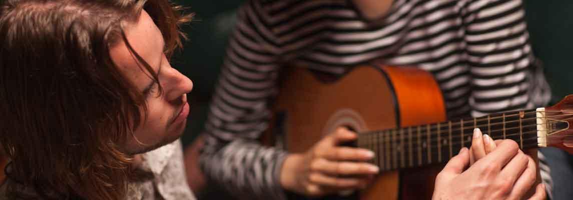 Gitarrenunterricht in Köln Keyvisual