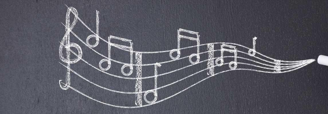 Musikunterricht an der Schule Keyvisual