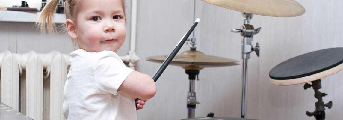 Schlagzeug für Kinder Keyvisual