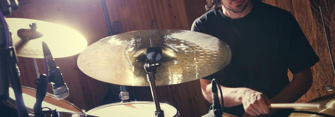 Schlagzeugunterricht Keyvisual